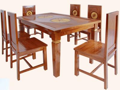 Kursi meja makan Matahari Meja makan Set